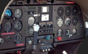 Plane's dashboard