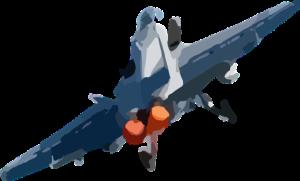 Jetplane graphic